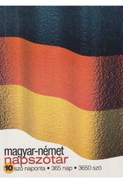 Magyar-német napszótár - Keresztes Mária - Régikönyvek