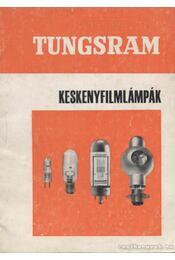 Tungsram keskenyfilmlámpák - Régikönyvek