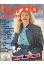 Burda moden 1988/ 1. (német nyelvű) - Régikönyvek