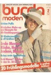 Burda moden 1985/ 2. (német nyelvű) - Régikönyvek