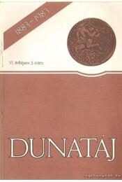 Dunatáj 1983. VI. évfolyam 3. szám - Régikönyvek