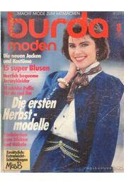 Burda moden 1986/ 8. (német nyelvű) - Régikönyvek