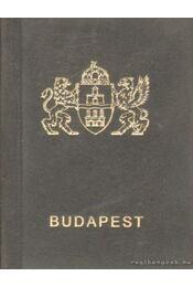 Budapest (mini) - Kőszeginé Telek Anikó (szerk.), Harsányi László - Régikönyvek