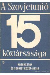 A Szovjetúnió 15 köztársasága 5. - Radó György, Ábel Péter (szerk.), Nemes G. Zsuzsanna, Garamvölgyi István, Kovanecz Ilona, H. Drechsler Ágnes - Régikönyvek