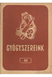 Gyógyszereink 20 - Dr. Fritz Gusztáv - Régikönyvek
