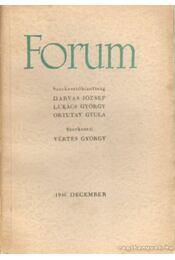 Forum 1946. december - Vértes György - Régikönyvek