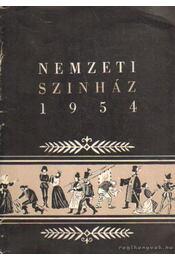 Nemzeti Szinház 1954 - Régikönyvek