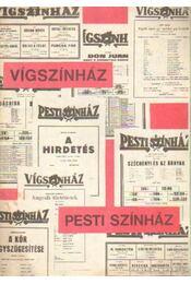 Vígszínház - Pesti Színház - Szilágyi István, Székely György - Régikönyvek