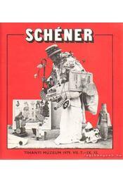 Schéner - Tihanyi múzeum 1979. VII. 7. - IX. 15 - Kemény Zoltán - Régikönyvek