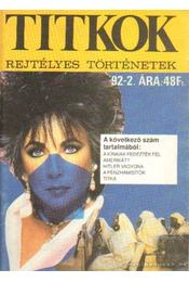 Titkok - rejtélyes történetek '92/2. - Nemere István - Régikönyvek
