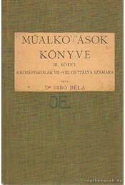 Műalkotások könyve III. kötet - Dr. Bíró Béla - Régikönyvek