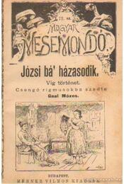 Józsi bá' házasodik - Gaál Mózes - Régikönyvek
