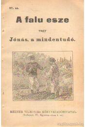 A falu esze vagy Jónás, a mindentudó 97. sz. - Régikönyvek