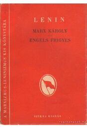 Marx Károly - Engels Frigyes - Lenin - Régikönyvek