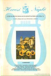 Hevesi Napló 1999/4 - Murawski Magdolna - Régikönyvek