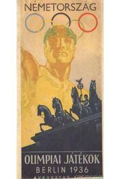 Olimpiai játékok - Berlin 1936 - Régikönyvek