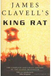 King Rat - James Clavell - Régikönyvek