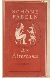 Schöne fabeln des altertums - Gasse, Horst - Régikönyvek