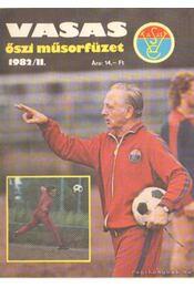 Vasas őszi műsorfüzet 1982/II. - Ferenczy István - Régikönyvek