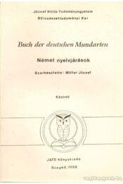 Buch der deutschen Mundarten - Német nyelvjárások - Müller József - Régikönyvek
