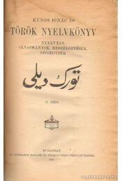 Török nyelvkönyv - Kúnos Ignácz - Régikönyvek