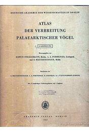 Atlas der Verbreitung Palaearktischer Vögel 2. (Atlasz a kőkorszaki madarak elterjedéséről 2.) - Portenko, L. A., Mauersberger G., Stephan, B., Scheel-Vietinghooff - Régikönyvek