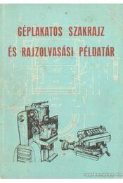 Géplakatos szakrjz és rajzolvasáso példatár - Horváth Ferenc - Régikönyvek