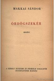 Ördögszekér - Makkai Sándor - Régikönyvek