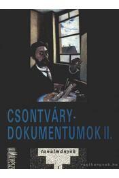 Csontvári-dokumentumok II. - Romváry Ferenc - Régikönyvek