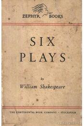 Six plays - William Shakespeare - Régikönyvek