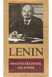 Megemlékezések, arcképek - Lenin - Régikönyvek