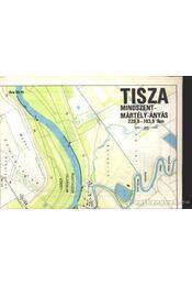 Tisza Mindszent-Mártély-Ányás térkép - Régikönyvek