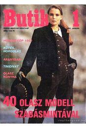 Butik 1. 1992. január - Moldován Katalin - Régikönyvek