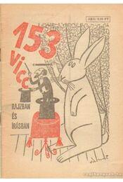 153 vicc rajzban és írásban - Földes György - Régikönyvek