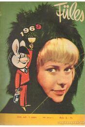 Füles 1969. évfolyam I-II. kötet (teljes) - Tiszai László (szerk.) - Régikönyvek