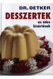 Dr. Oetker desszertek - Régikönyvek