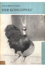 Der Kongopfau (A kongói páva) - Verheyen, Prof. Dr. Walter N. - Régikönyvek