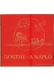 A napló (mini) - Goethe - Régikönyvek