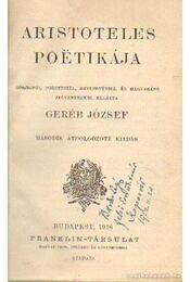 Aristoteles poetikája- Három jellemzés- Shakespeare és a magyar költészet - Császár Elemér, Riedl Frigyes - Régikönyvek