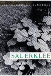 Sauerklee - Schulz, Bruno - Régikönyvek