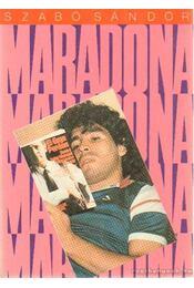 Maradona - Szabó Sándor - Régikönyvek
