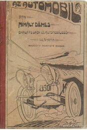 Az autómobil - Mihály Dénes - Régikönyvek