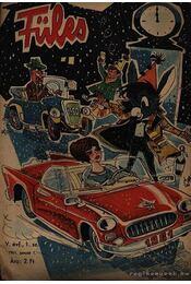 Füles 1961. évf. 1-32. szám (töredék) - Gelléri András (szerk.) - Régikönyvek