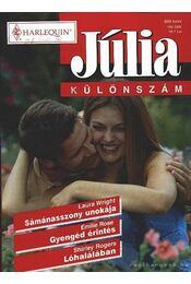 Júlia különszám 16. kötet - Rogers, Shirley, Wright, Laura, Rose, Emillie - Régikönyvek