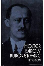 Buborékharc - Molter Károly - Régikönyvek