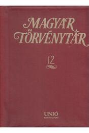 Magyar Törvénytár 12. - Király György - Régikönyvek