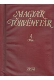 Magyar Törvénytár 14. - Király György - Régikönyvek