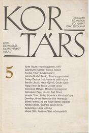 Kortárs 1991. május - Kis Pintér Imre - Régikönyvek