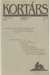 Kortárs 1999/1. január - Kis Pintér Imre - Régikönyvek