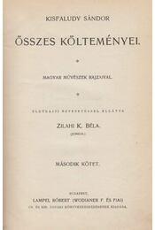 Kisfaludy Sándor összes költeményei II. - Kisfaludy Sándor - Régikönyvek